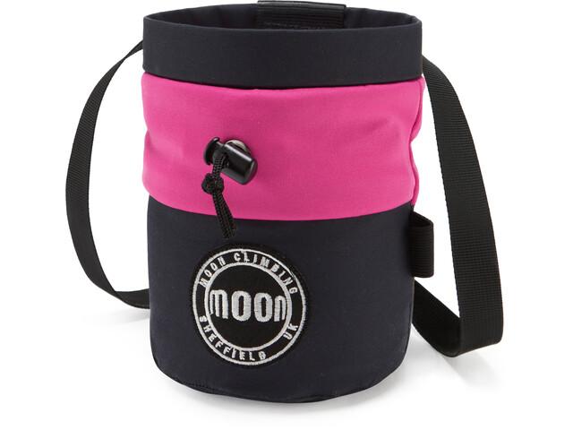 Moon Climbing S7 Retro Chalk Bag MIS navy/pink